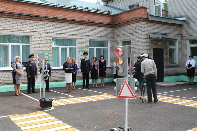 открытие автогородка 28 августа 2015 года