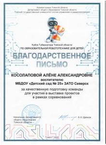 Кубок Губернатора ТО по робототехнике0001